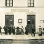 Gare de Tocane - notez la salle d'attente de 3ème classe