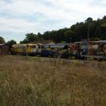 Train pour les travaux à Niversac ( photo M.L. )