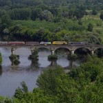 Train spécial en provenance de Mulhouse (Pont de Vicq, Le Buisson)